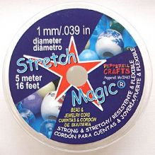 Stretch Magic Elastic 1mm Clear 5 metres
